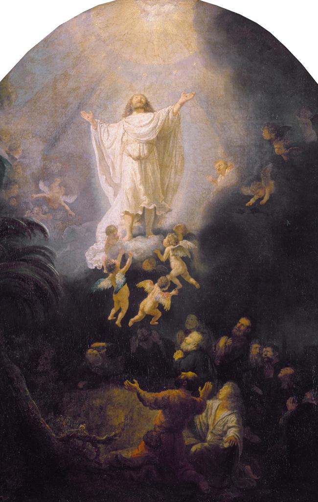 Uzašašće Gospodinovo (Rembrandt, 1636.)