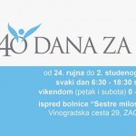 40 dana za život, jesen 2014