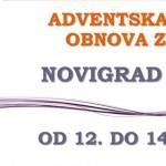 Adventska duhovna obnova za mlade, Novigrad na Dobri
