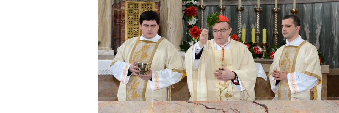 Kardinal Josip Bozanić posvetio novi oltar i ambon u uređenom svetištu