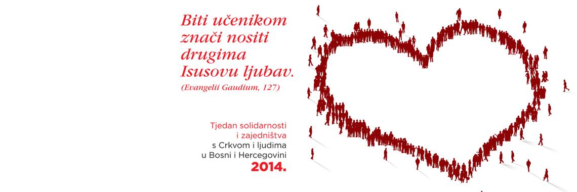 Tjedan solidarnosti i zajedništva s Crkvom i ljudima u Bosni i